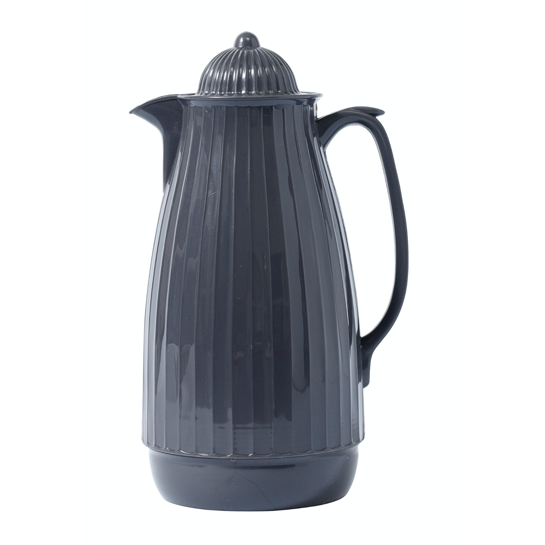 Nordal thermoskan grijs kunststof/glas-7983-5708309084169