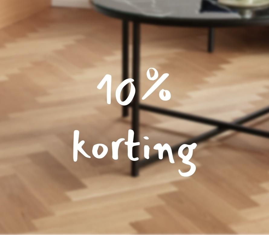10% korting