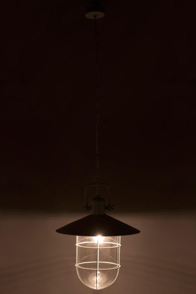 J-line Lamp Hangend Industrieel Metaal Licht Blauw-1413-5400924014131