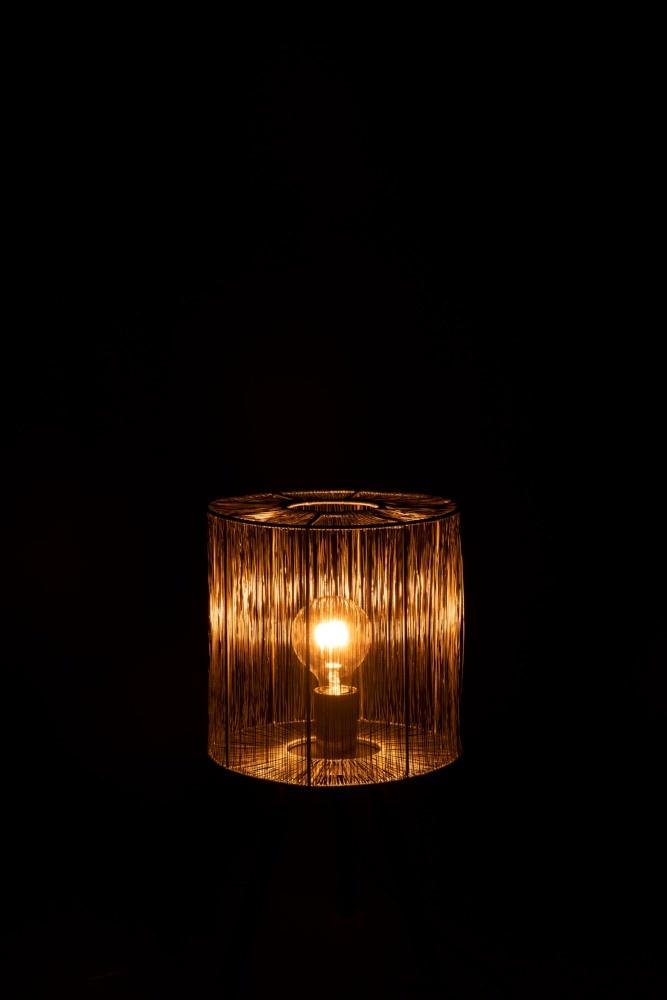 J-line Tafellamp Metaal Roest Bruin Small