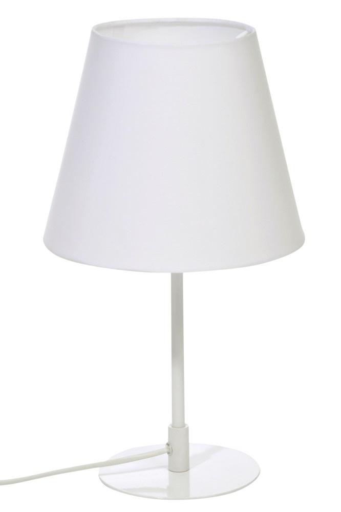 J-line Tafellamp Schuin Metaal Wit 23X39Cm