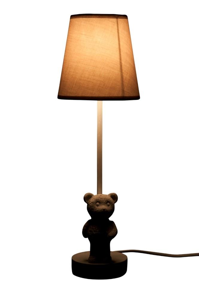 J-line Lamp Beer Poly Wit 15X15X47Cm E27 60W 230V-240V