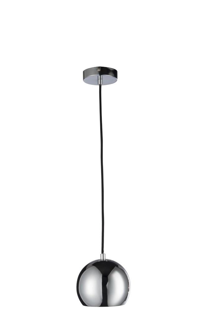 J-line Hanglamp Bol Metaal Silver Small