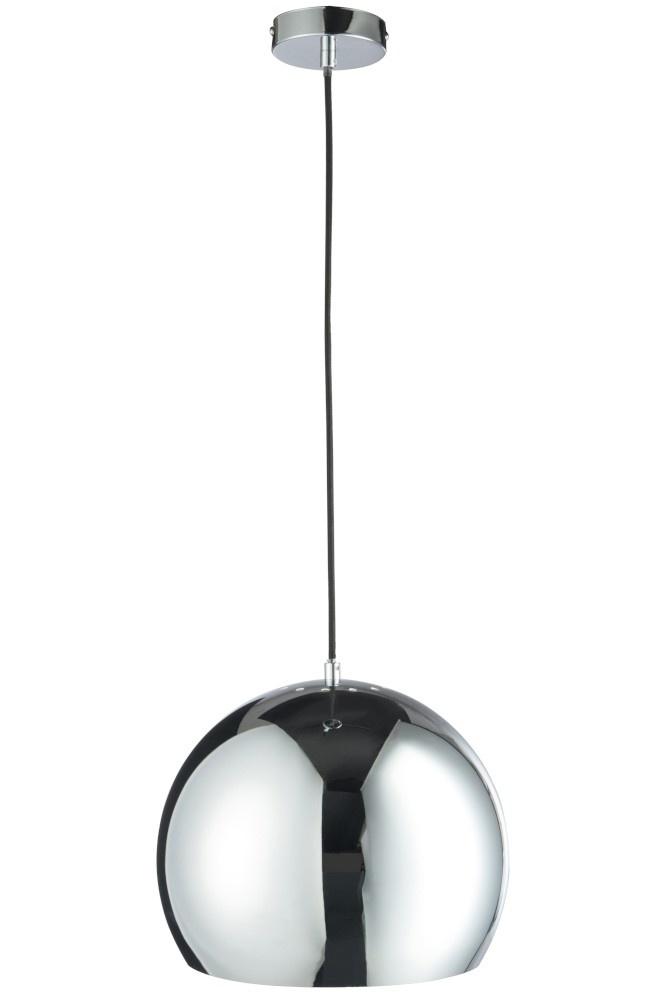 J-line Hanglamp Bol Metaal Silver  Large-75641-5415203756411