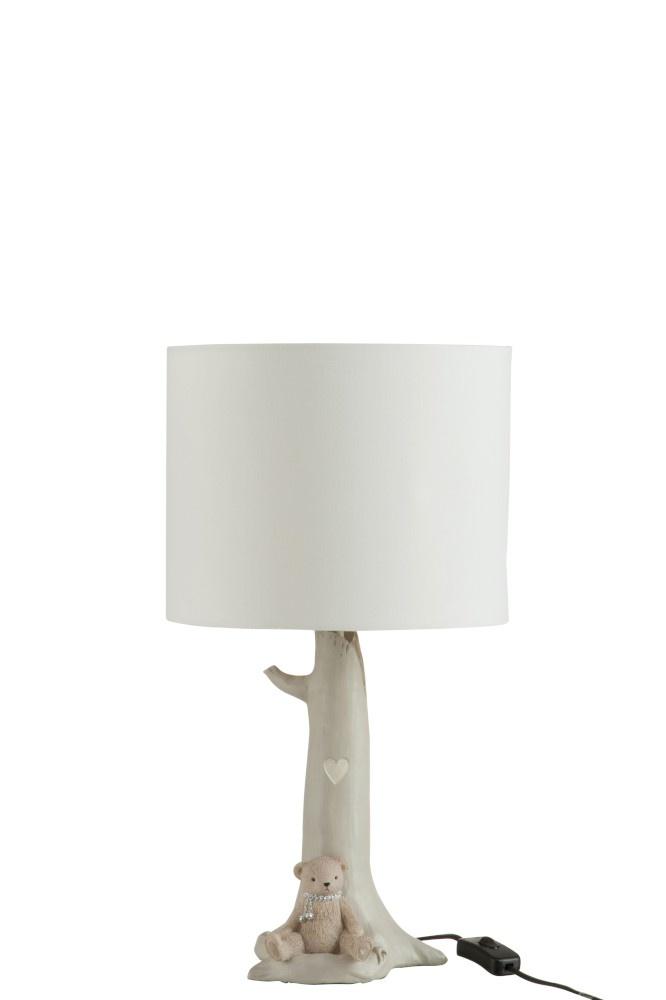 J-line Lamp Tak Beer Poly Beige