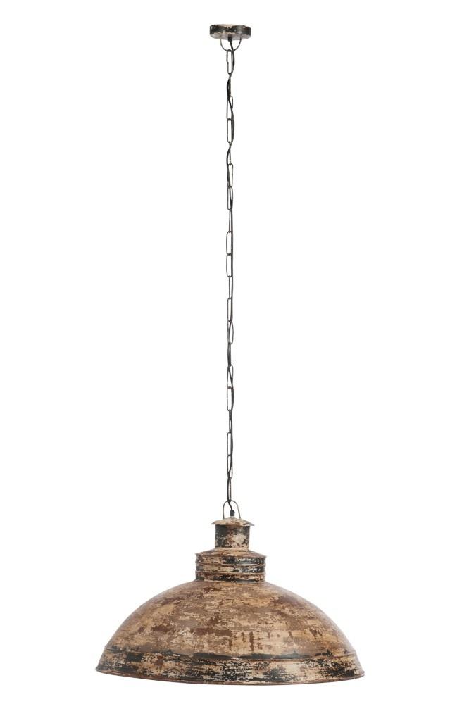 J-line Hanglamp Antiek Metaal Donker Bruin-77964-5415203779649