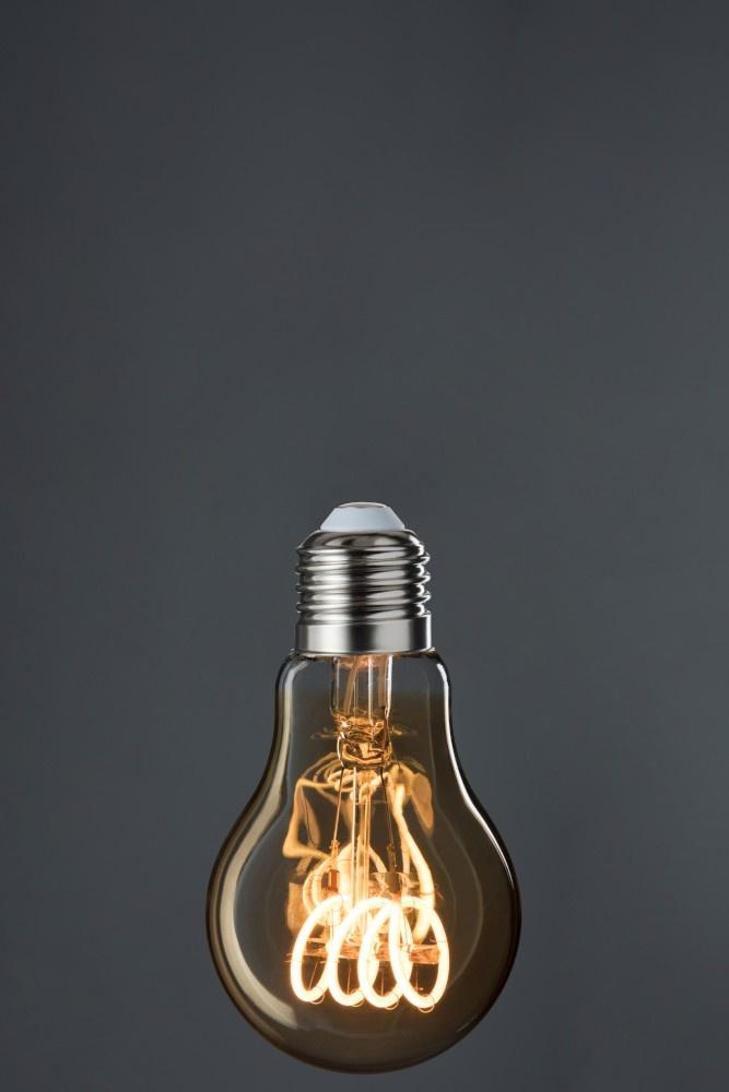 J-line Ledlamp A19 Amber 4 Loops E27-78823-5415203788238