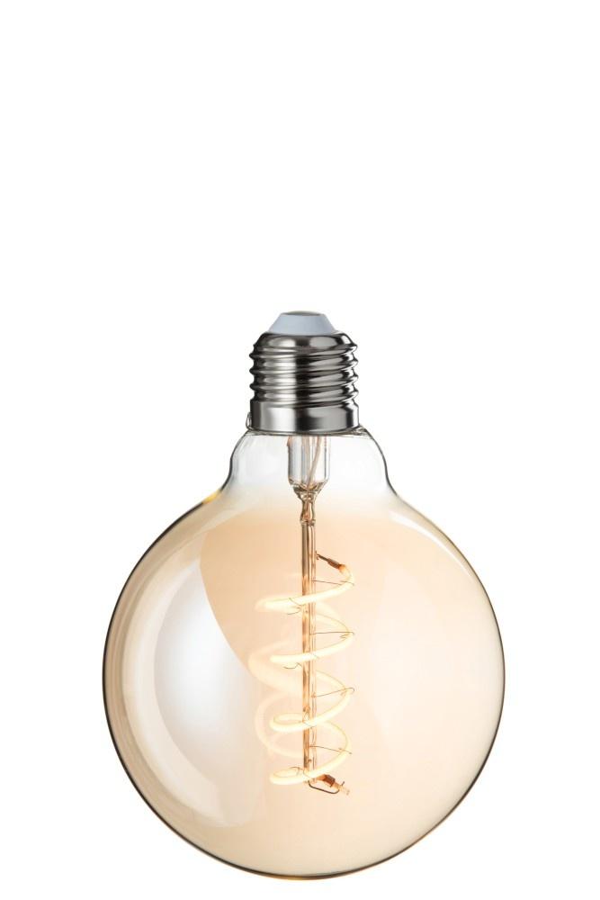 J-line Ledlamp G95 Amber Spiral E27-78826-5415203788269