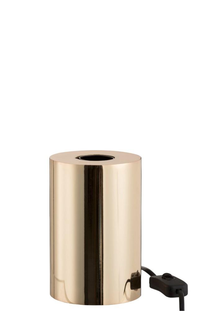 J-line Socket Op Voet Staal Goud Aanrakings Sensor 3 Standen