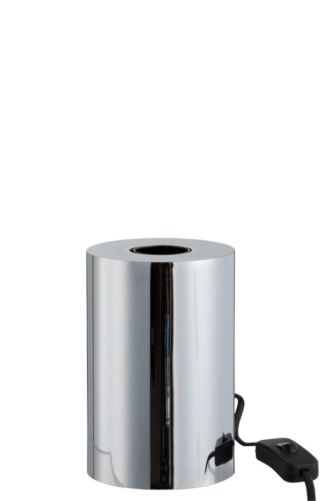 J-line Socket Op Voet Staal Zilver Aanrakings Sensor 3 Standen