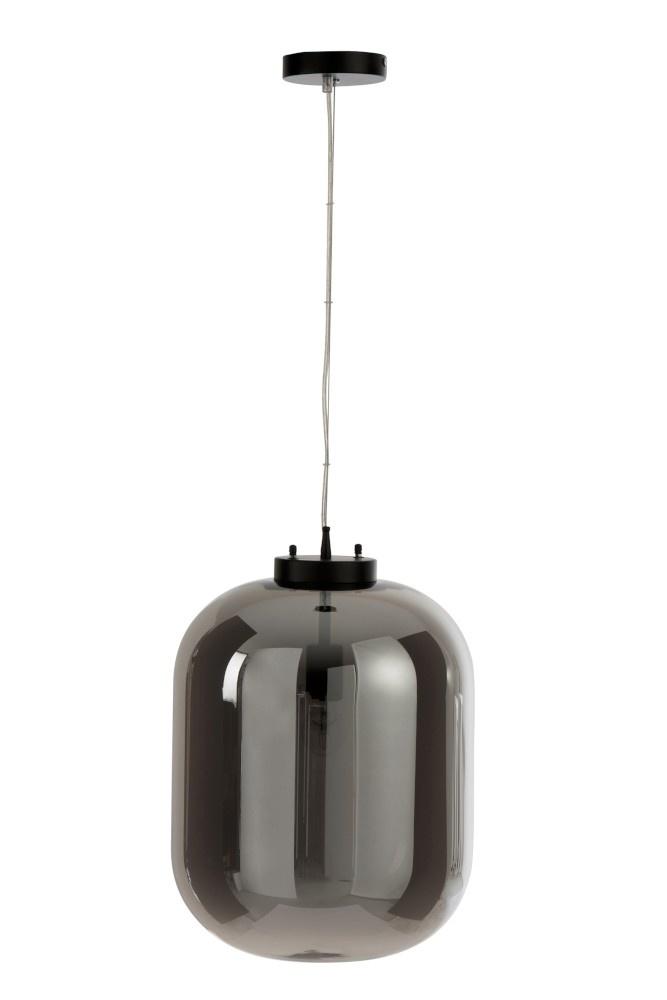 J-line Hanglamp Spiegel Glas Zilver-85336-5415203853363