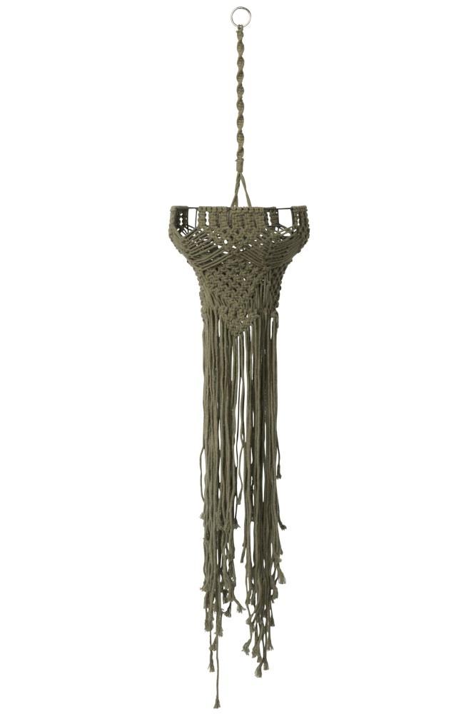 J-line Hanger Voor Licht Koord Groen Small-85778-5415203857781