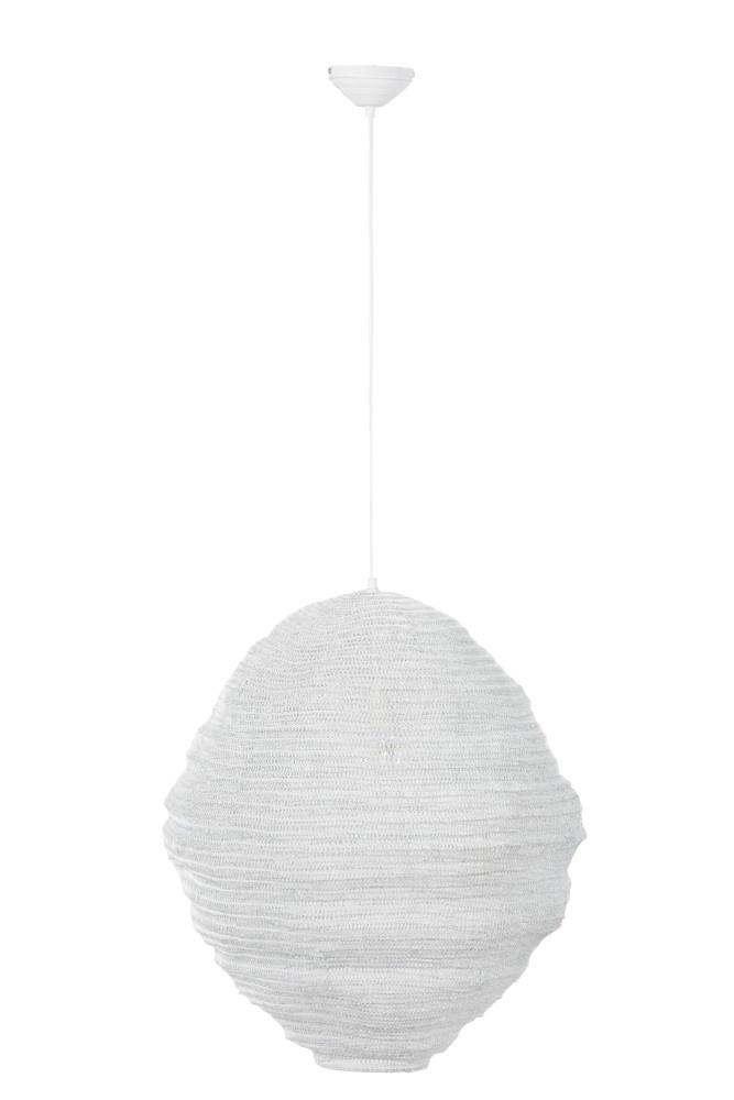 J-line Hanglamp Gaas Metaal Wit-88048-5415203880482