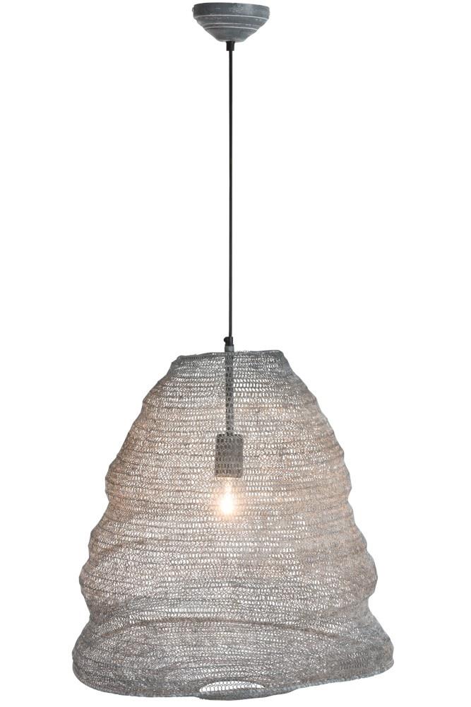 J-line Hanglamp Gaas Metaal Donker Grijs Large-88052-5415203880529