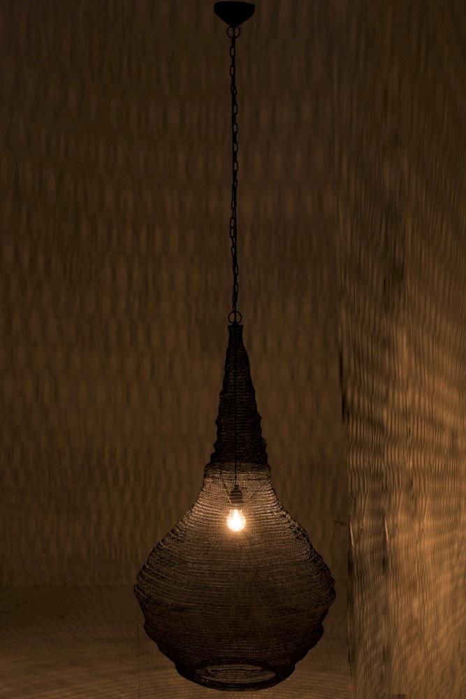 J-line Hanglamp Gaas Metaal Mat Zwart Small
