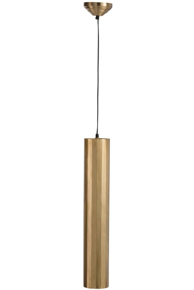 J-line Hanglamp Cilinder Metaal Goud Large-88067-5415203880673