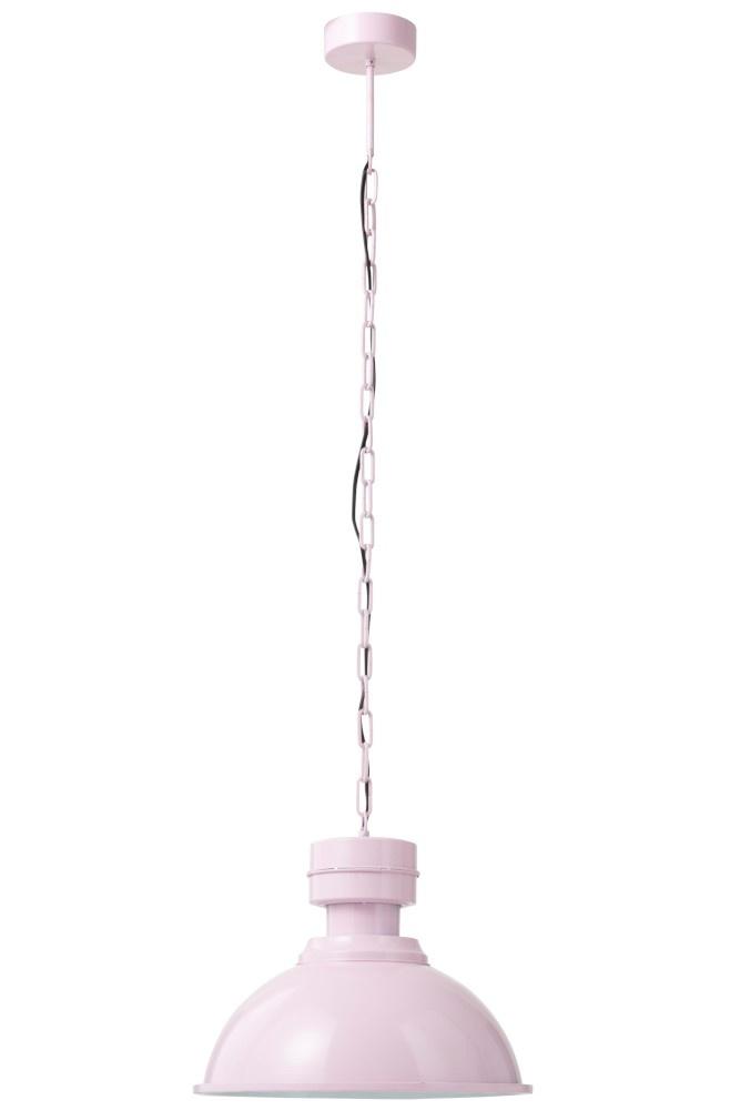 J-line Hanglamp Rond Metal Roze-90300-5415203903006