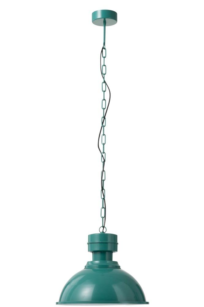 J-line Hanglamp Rond Metal Groen-90301-5415203903013