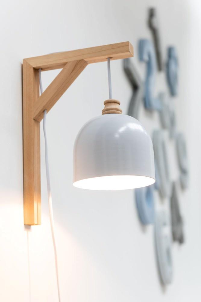 J-line Muurlamp Denis Sparhout/Metaal Wit