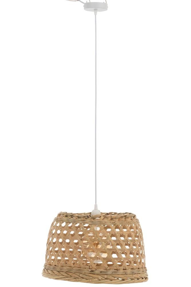J-line Hanglamp Muna Bamboo Naturel