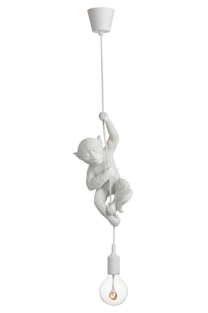 J-line Lamp Hangend Polyresin Wit-94257-5415203942579