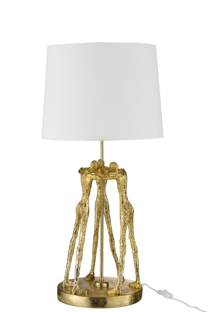 J-line Lamp Figuur Poly Goud