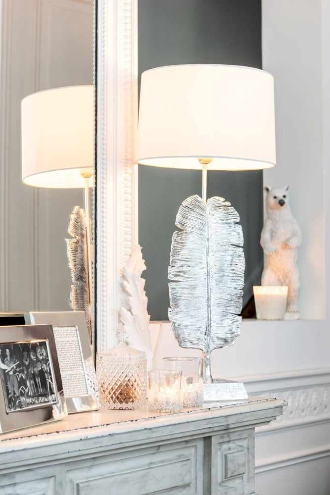 J-line Lamp Veer Poly Zilver-95113-5415203951137