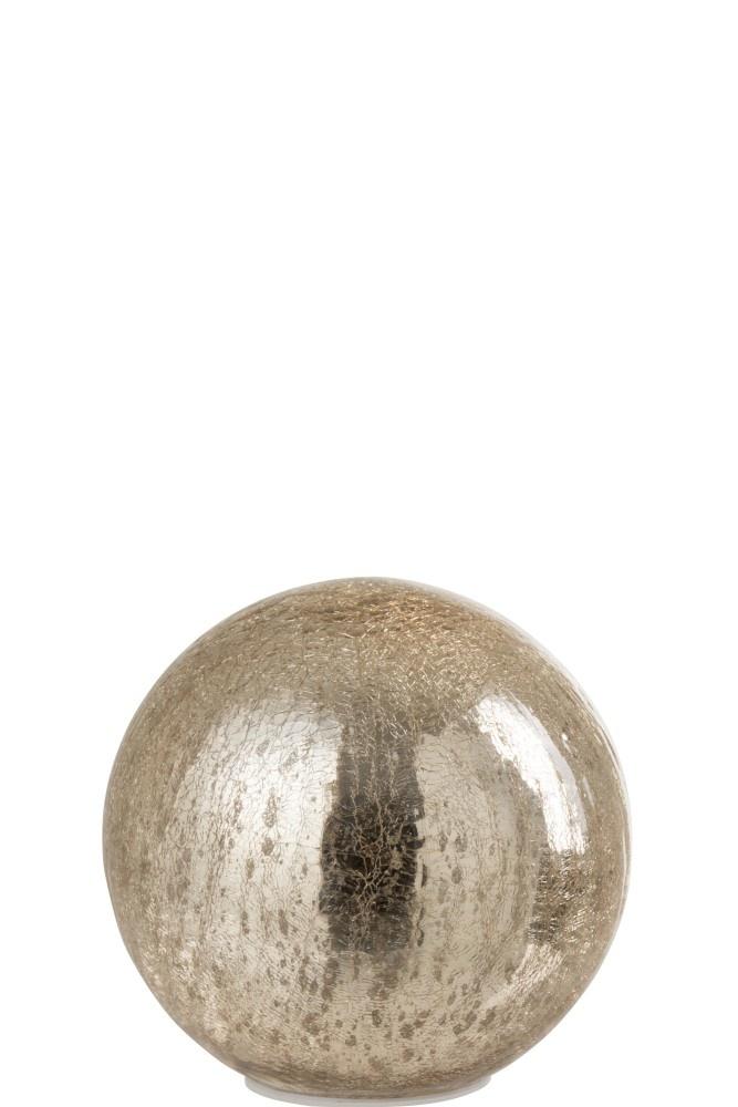 J-line Bal Led Glas Champagne Large
