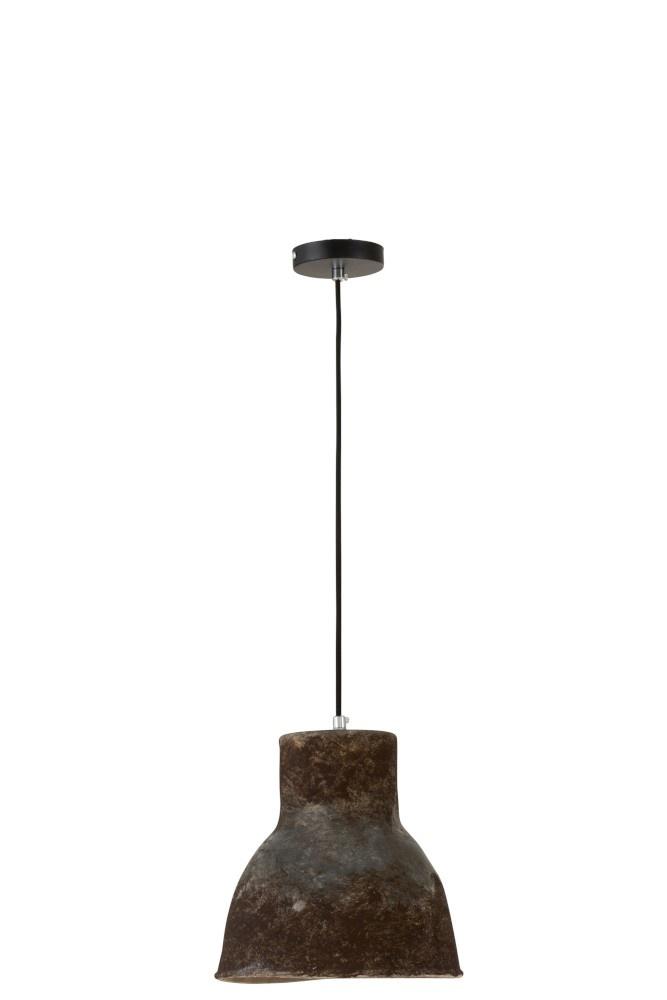 J-line Hanglamp Aardewerk Bruin Small