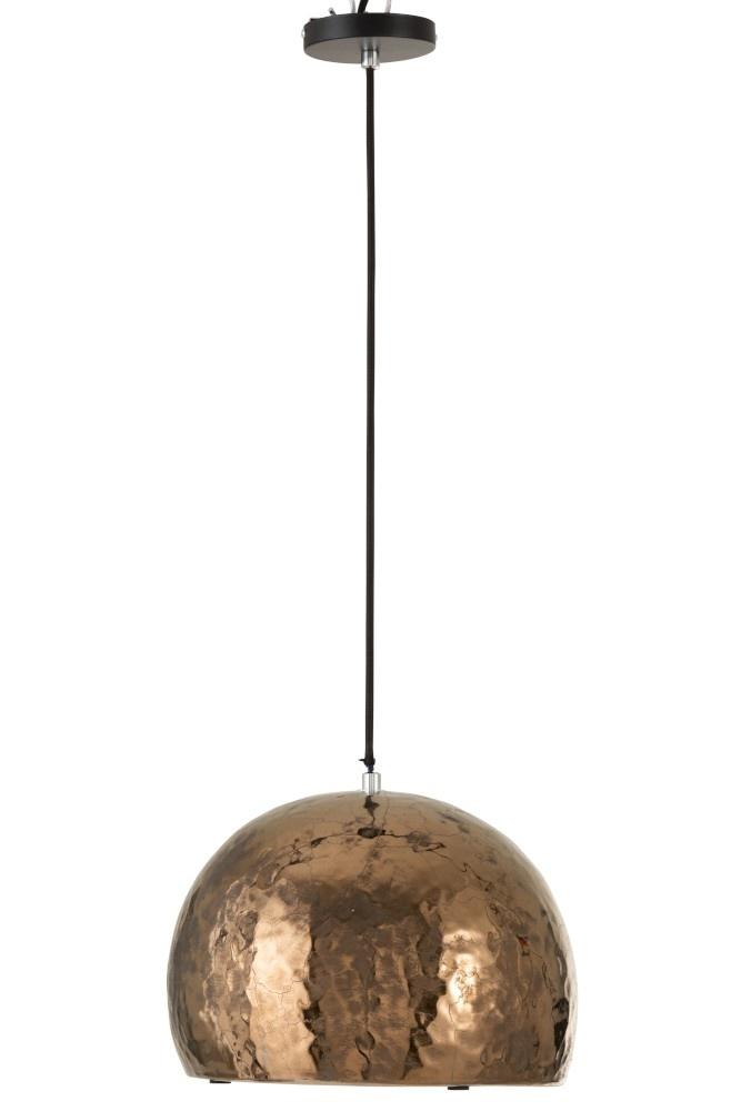 J-line Hanglamp Halve Bol Aardew Brns-96099-5415203960993