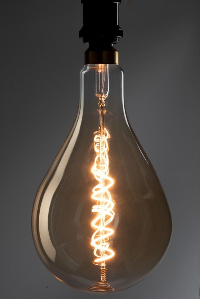 J-line Ledlamp Amber Ps52 Spiral E27