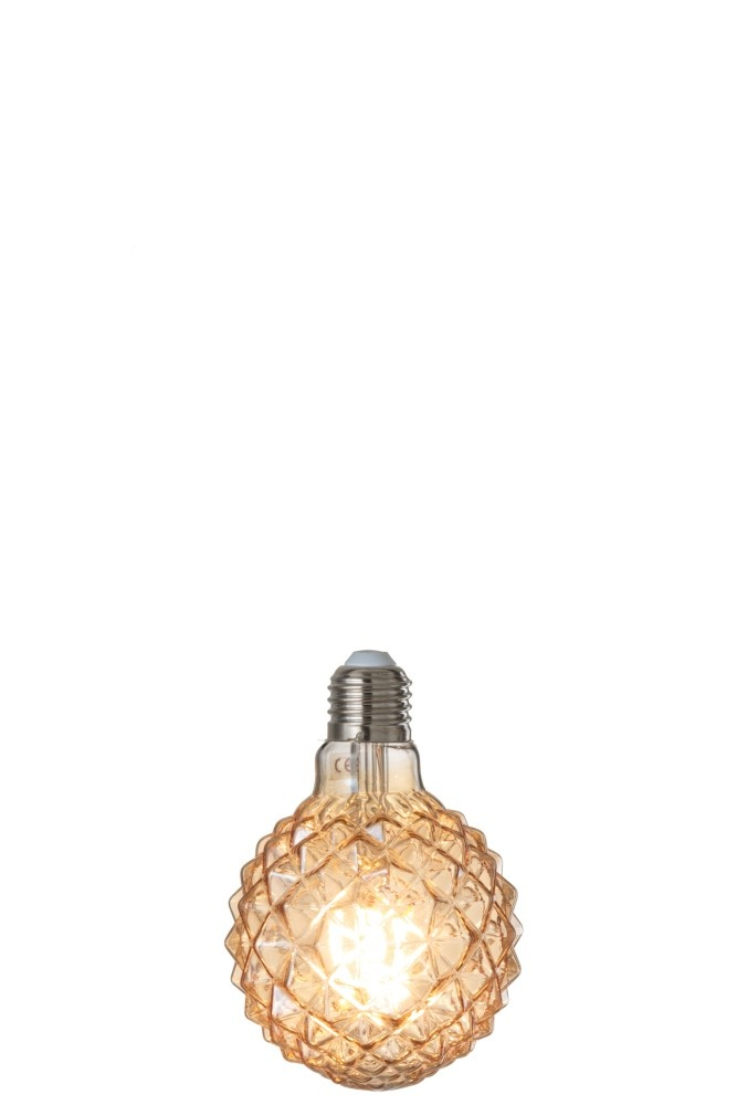 J-line Ledlamp Amber G80 Filament Geometrical E27