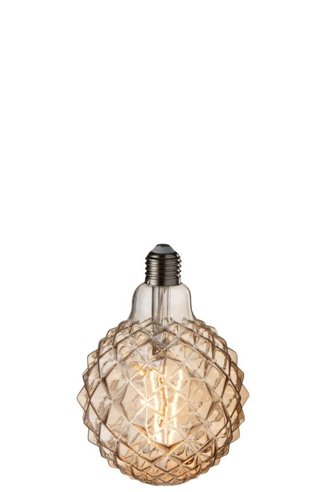 J-line Ledlamp Amber G125 Filament Geometrical E27