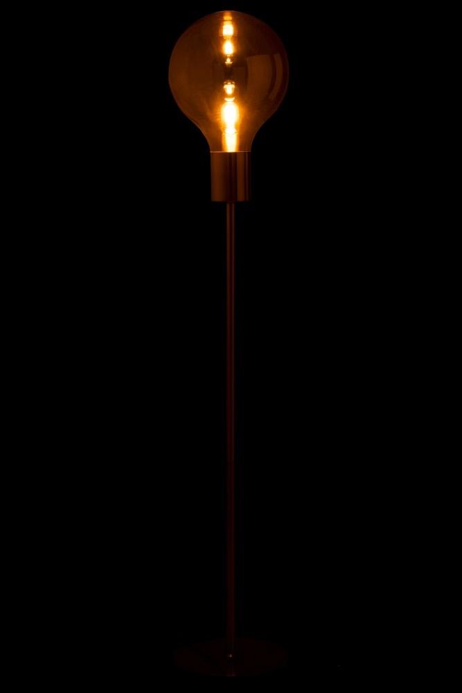 J-line Lamp Staand Ballon Glas/IJzer Goud