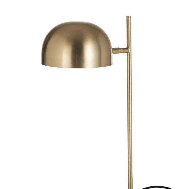 Bureaulamp Luna Metaal Goud