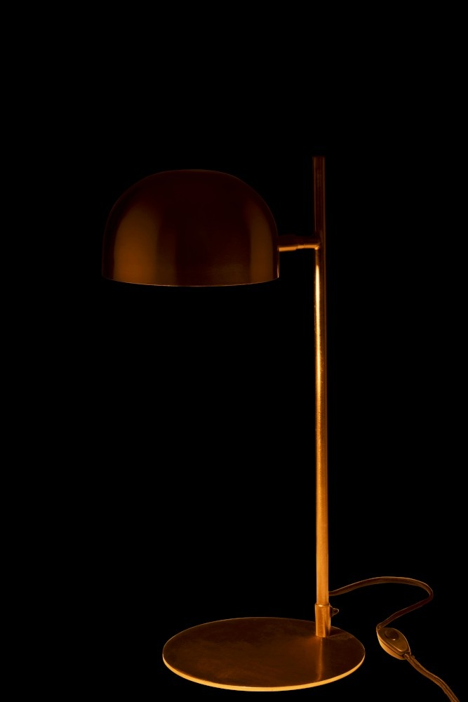J-line Bureaulamp Luna Metaal Goud-96356-5415203963567