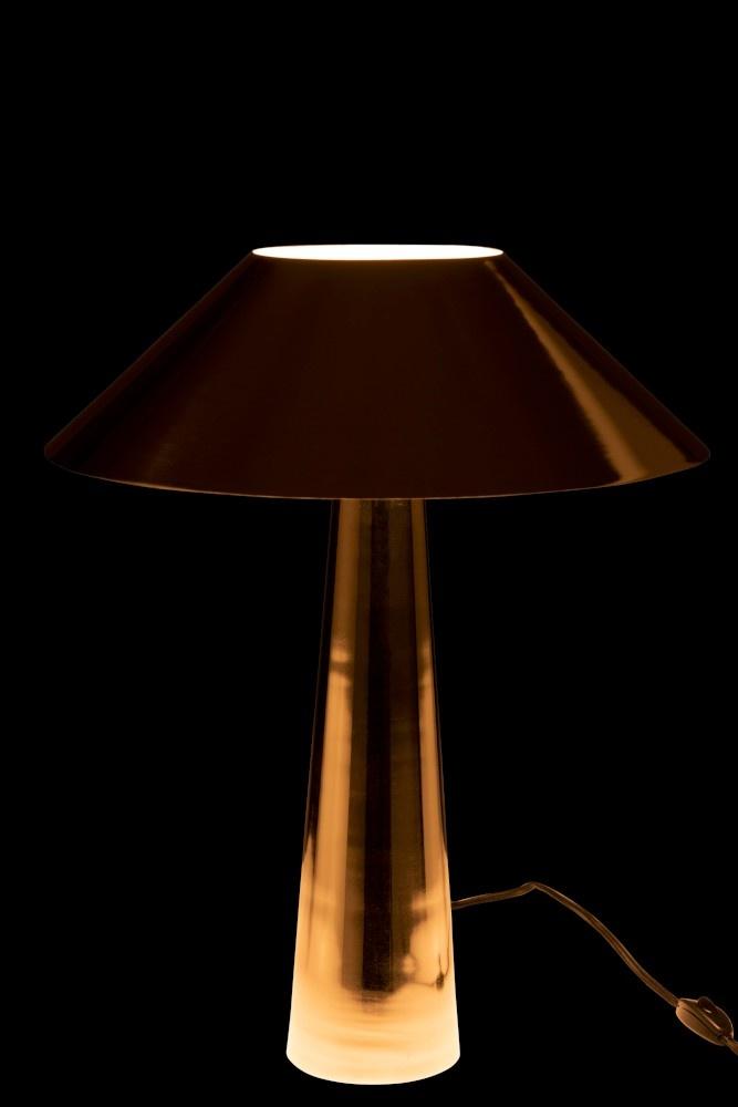 J-line Tafellamp Paraplu Metaal Zilver-96358-5415203963581