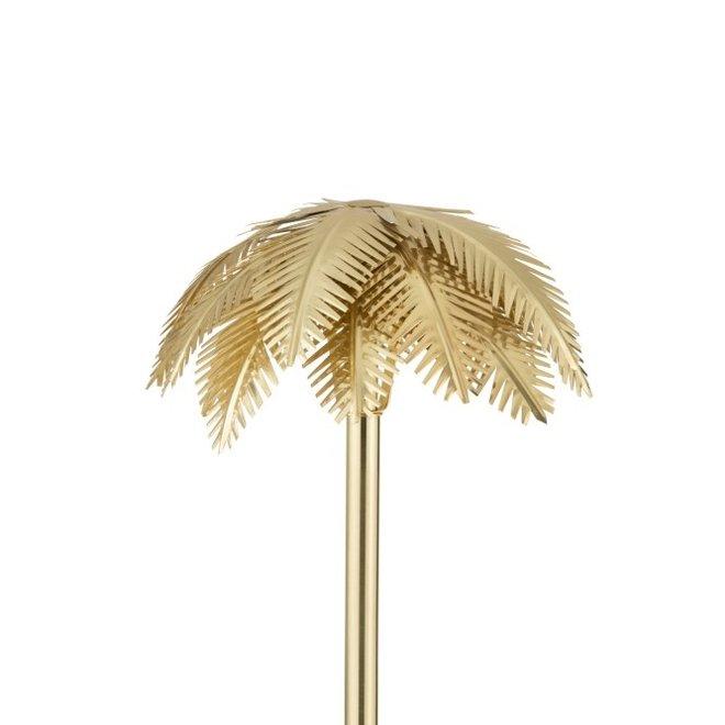 Tafellamp Kokosbladeren Staal Goud