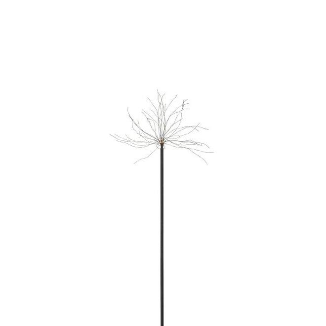 Lamp Led+Stok Metaal Zwart Small