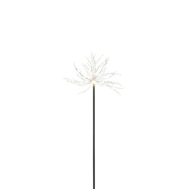 J-line Lamp Led+Stok Metaal Zwart Small - 97788