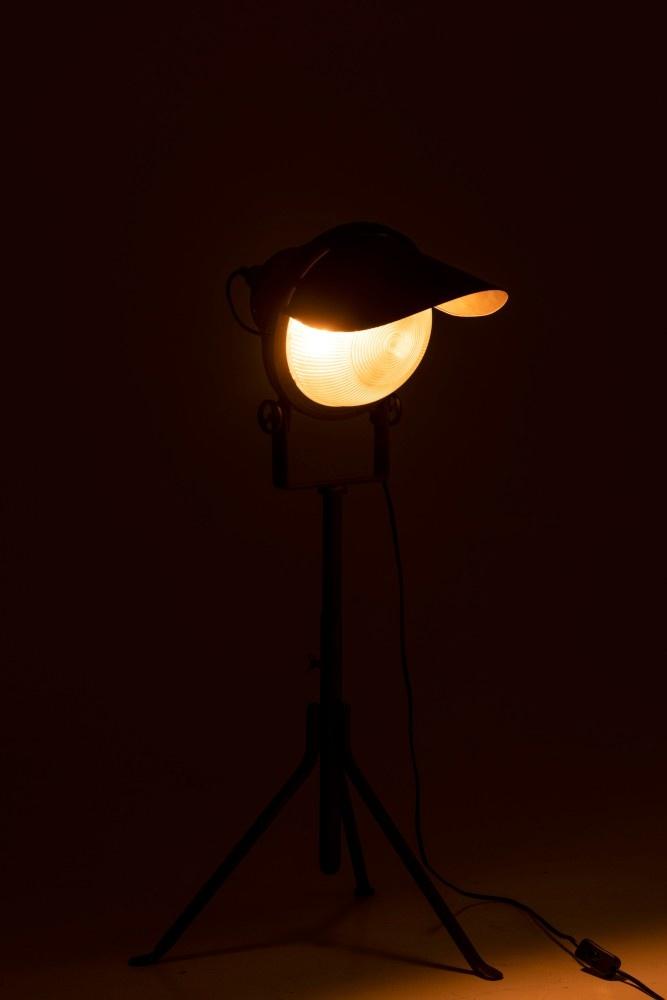 J-line Lamp Koplamp Op Voet Metaal Zwart-97831-5415203978318