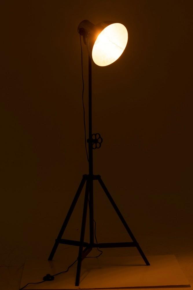 J-line industriële spotlight vloerlamp