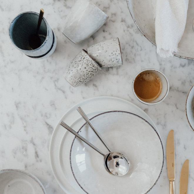 Broste Copenhagen Mok Nordic Sand espresso 100ml - Set van 6 - 14533016