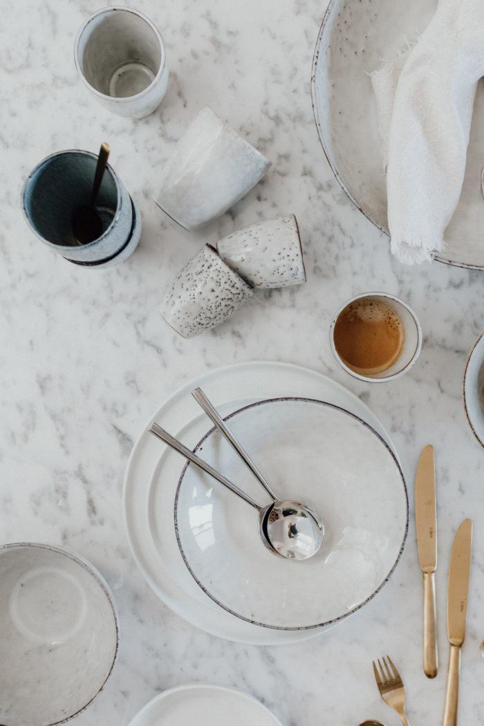 Broste Copenhagen Mok Nordic Sand espresso 100ml - Set van 6