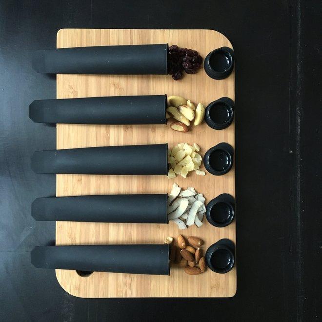 Nordal Siliconen Ijsvorm Calippo - zwart - 6 stuks - 3995