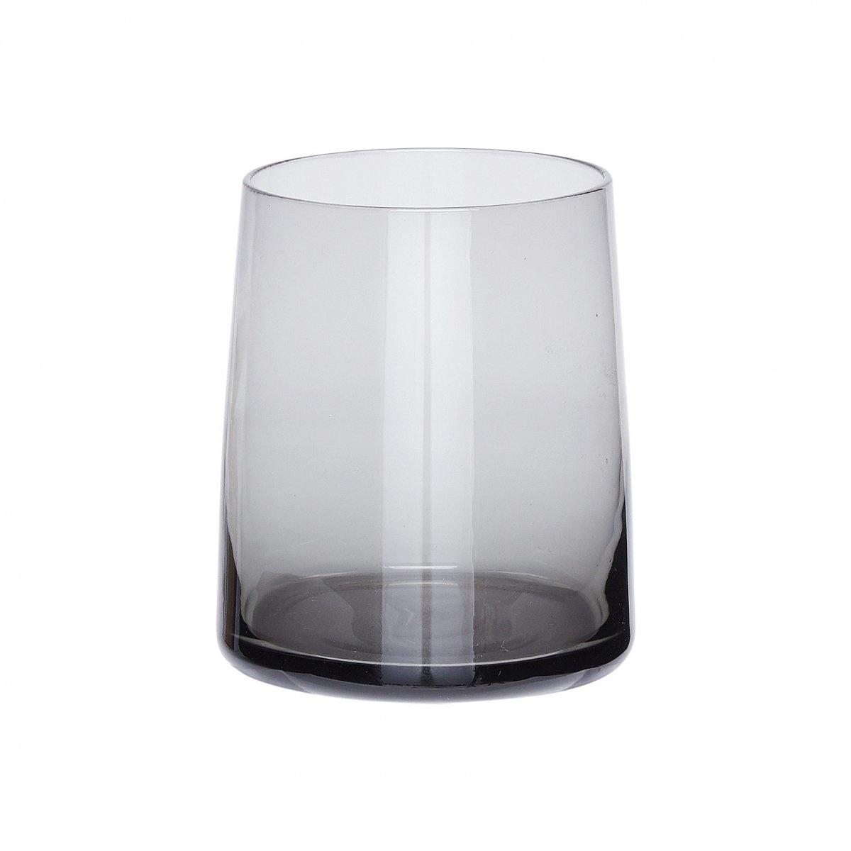 Hubsch Drinkglas, grijs - set van 6