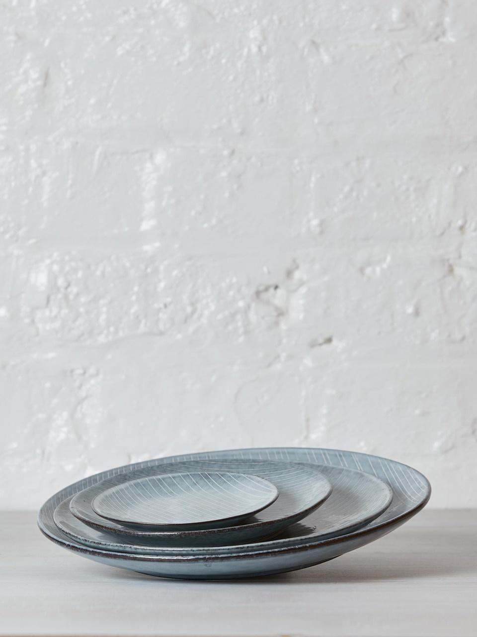 Broste Copenhagen Dinerbord Nordic Sea - ø26cm - set van 4-14531033-5709895876466