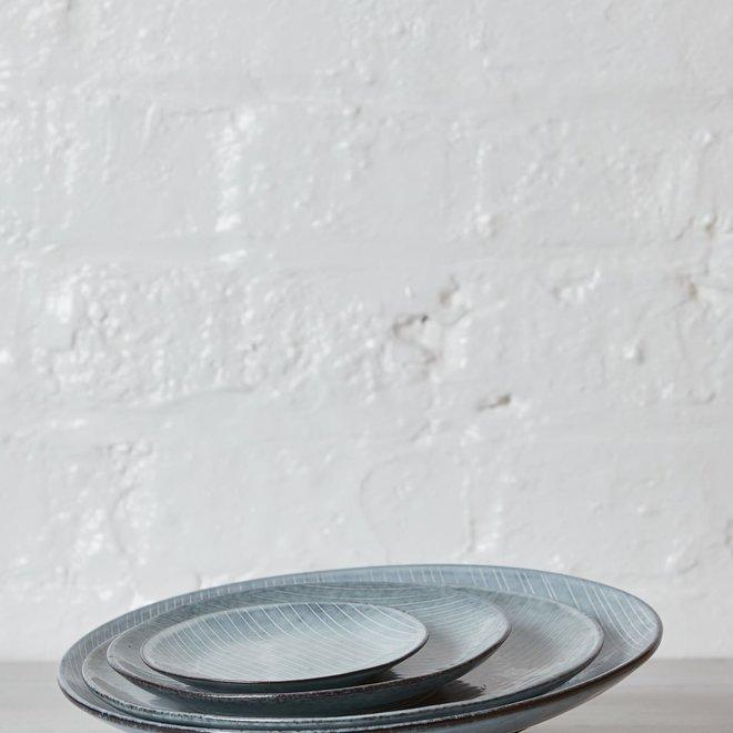 Broste Copenhagen Ontbijtbord/lunchbord Nordic Sea - ø20cm - set van 4 - 14441074