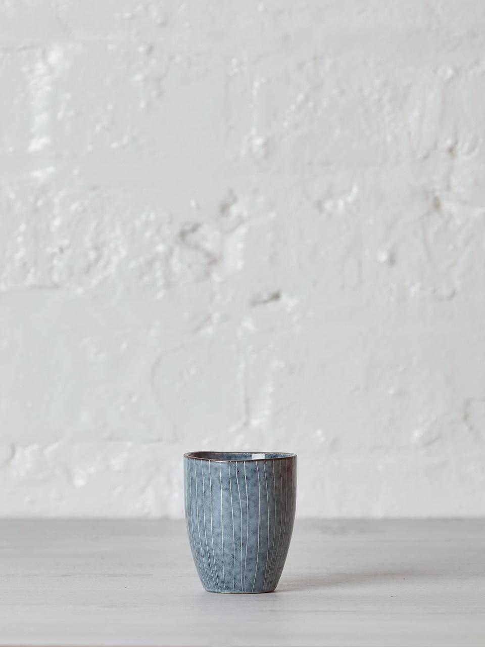 Broste Copenhagen Mok Nordic Sea espresso 100ml - Set van 6-14531032-5709895875377