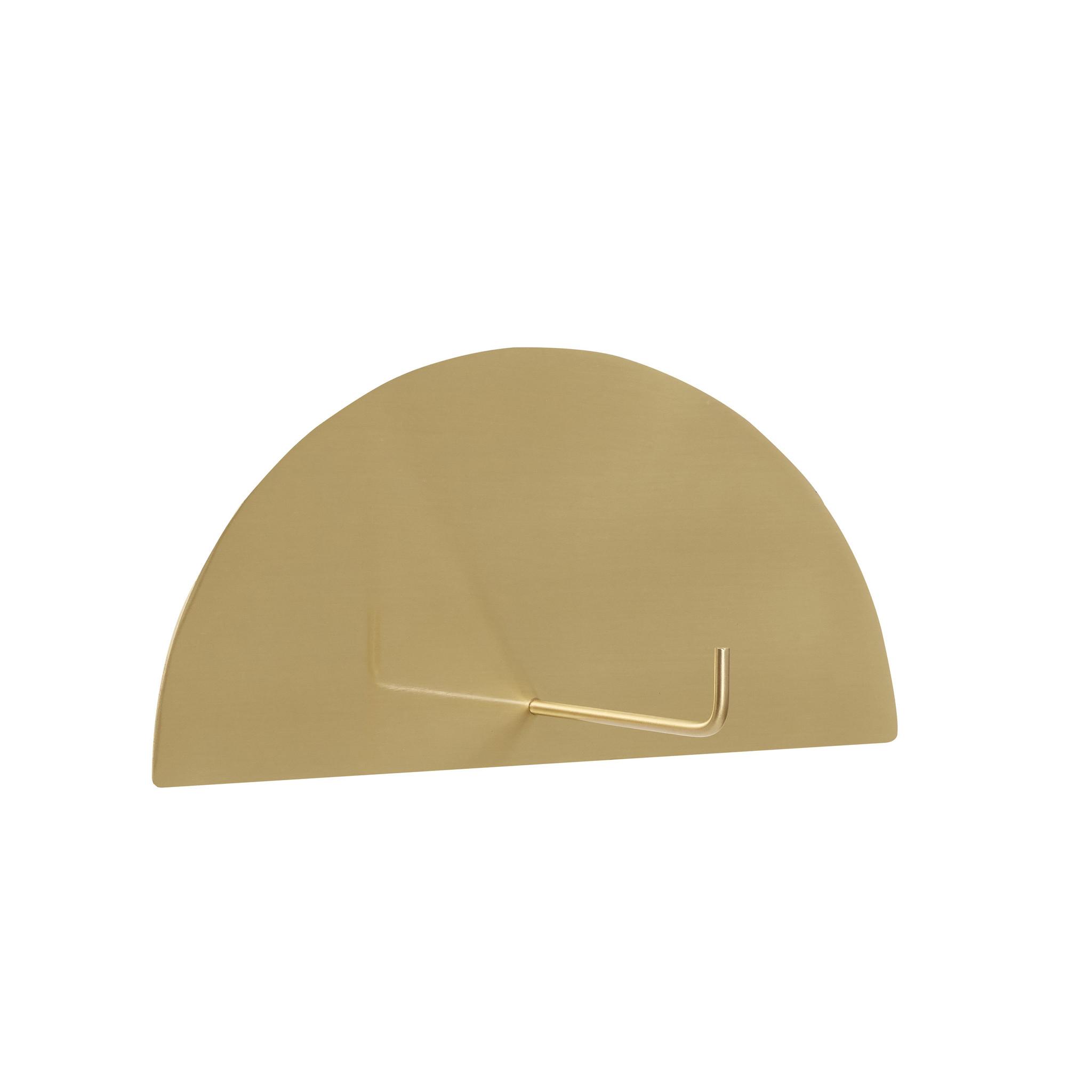 Hubsch Toiletrolhouder goud messing-991121-5712772072691